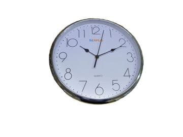 """ROUND LARGE WALL CLOCK (30cm - 12"""") for HALL LOUNGE KITCHES"""